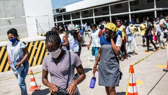 Haití registra un récord de 10 muertes por covid-19 en un día