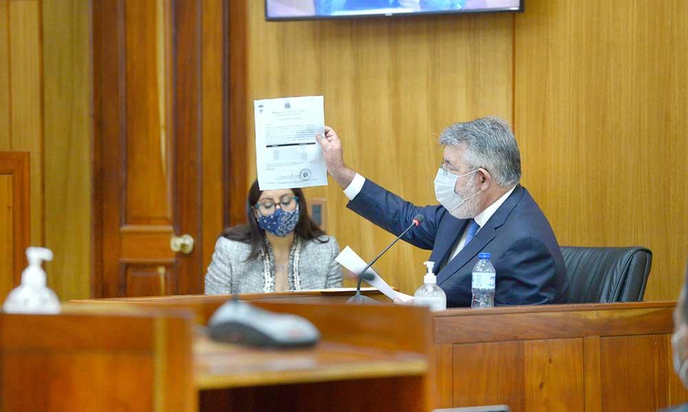 Díaz Rúa presenta pruebas a descargo en el desarrollo del juicio Odebrecht