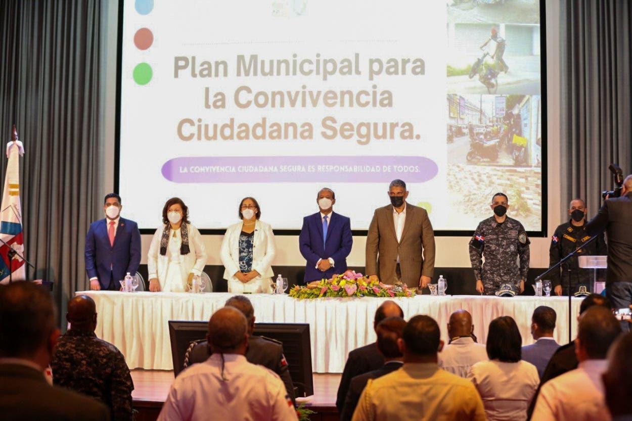 Interior y Policía y la Alcaldía de San Cristóbal trabajarán juntos por la seguridad ciudadana