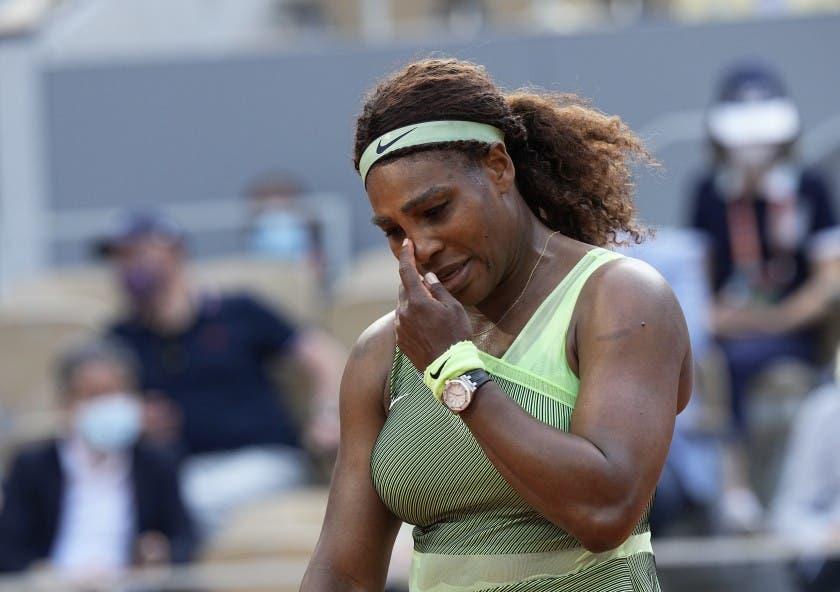Serena Williams naufraga en octavos en Roland Garros