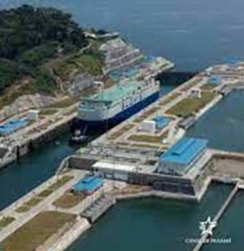 Celebran ampliación del Canal de Panamá