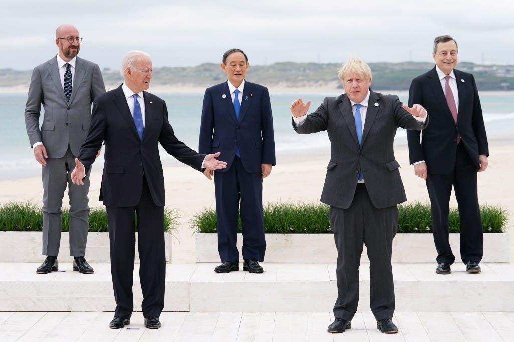 Líderes inician cumbre del G7 en Reino Unido