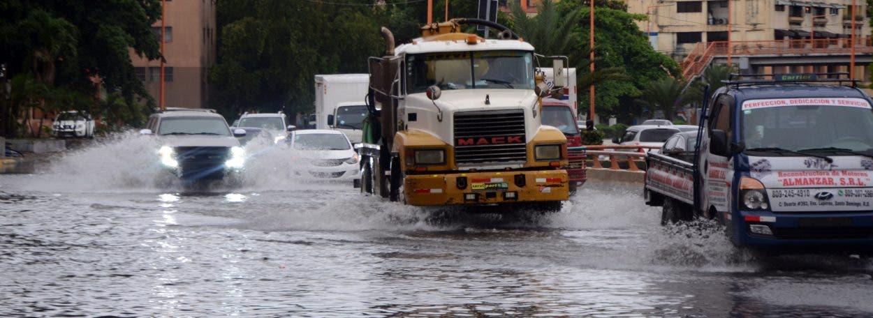 Fuertes lluvias en GSD