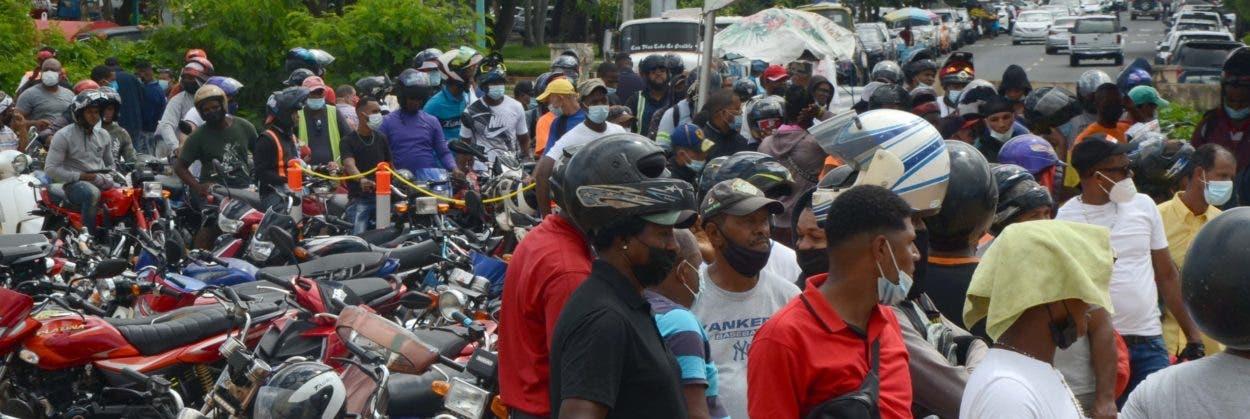 Miles registran motocicletas