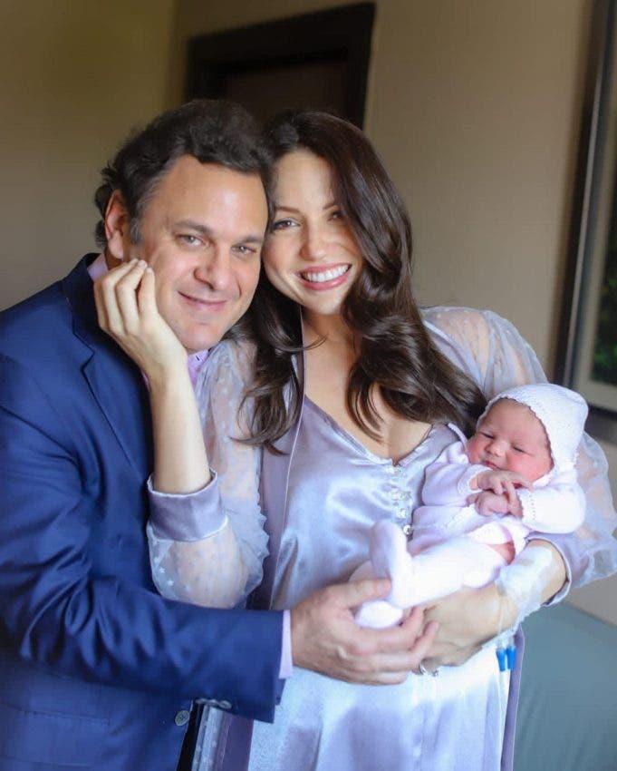 Nació Antonella, primogénita de Lorenna Pierre y el empresario Jacinto Peinado