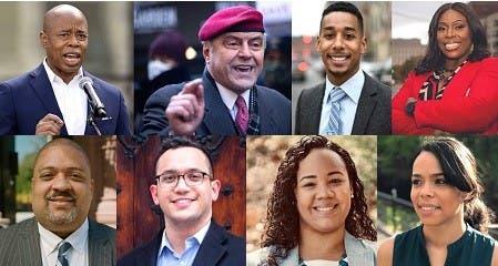 Adams y Sliwa encabezan primarias demócratas y republicanas alcaldía NYC