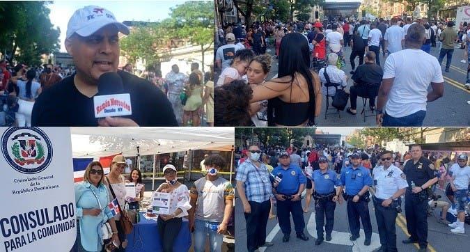 Celebran Carnaval del Boulevard en el Alto Manhattan