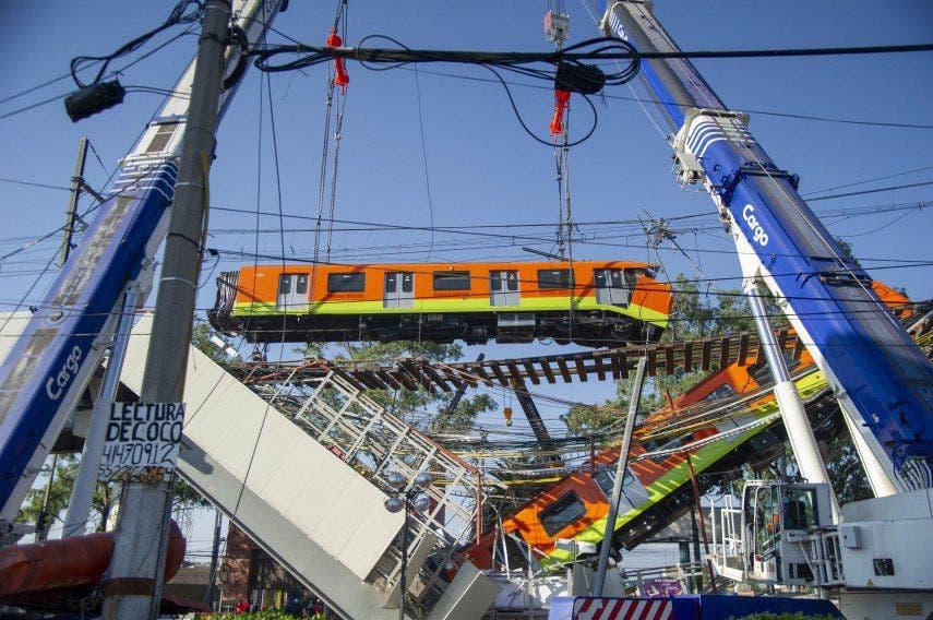 Ciudad de México no reabrirá por ahora la línea accidentada del metro