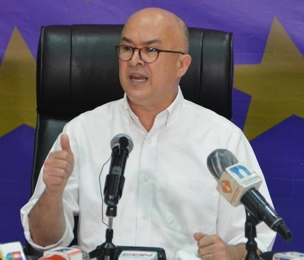 Domínguez Brito dice gobierno PRM no está cumpliendo promesas  de campaña