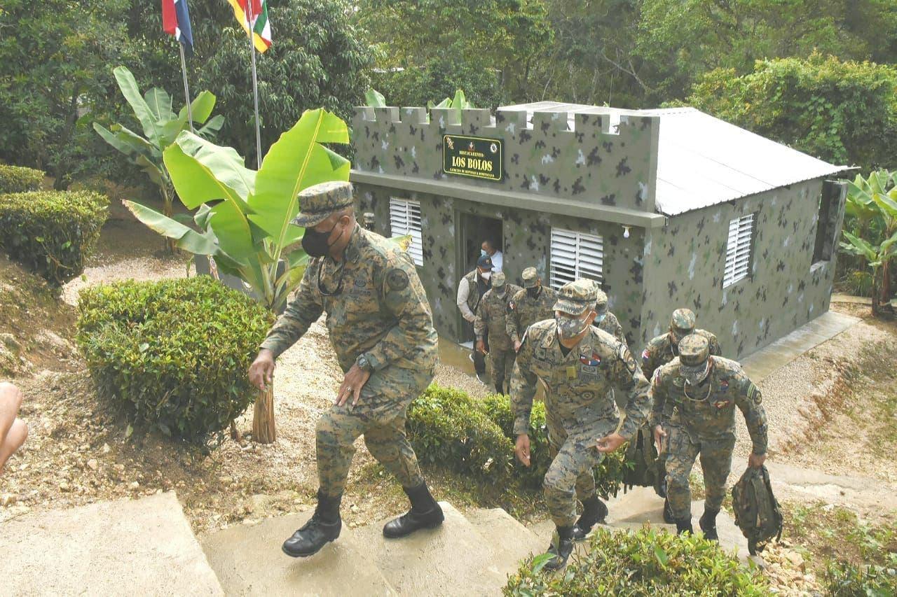 Ejército reinaugura destacamento Los Bolos en Barahona