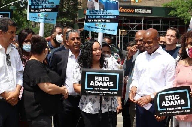Exhortan a dominicanos y otras etnias seguirse sumando a campaña Eric Adams