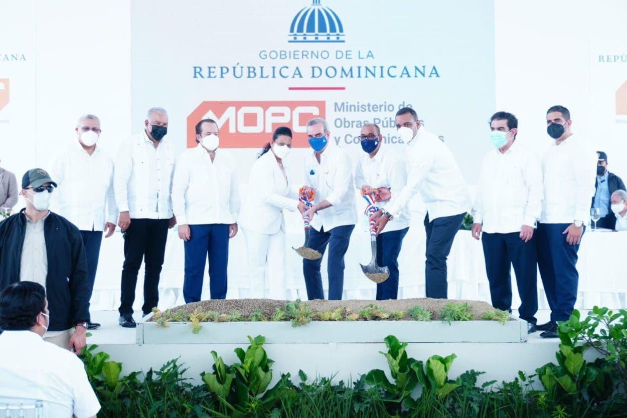 Gobierno inicia obras en La Vega, Hermanas Mirabal y Espaillat por más de RD$1,000 MM
