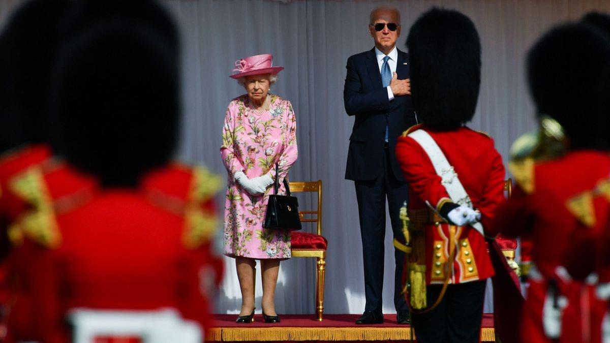 Isabel II recibe a los Biden en el castillo de Windsor