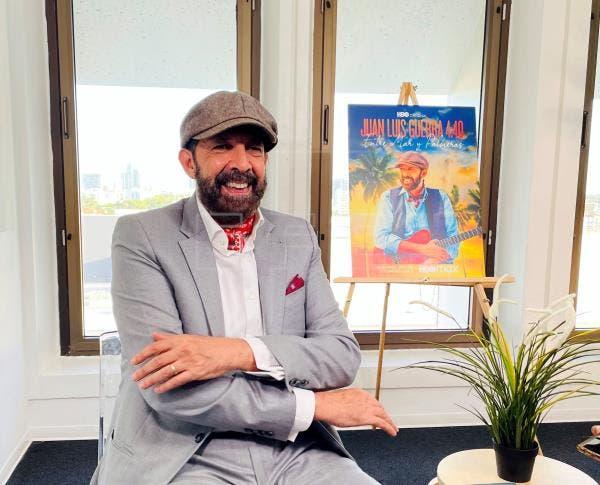 """Juan Luis Guerra anuncia gira """"Entre el mar y las palmeras"""" y cinta animada"""