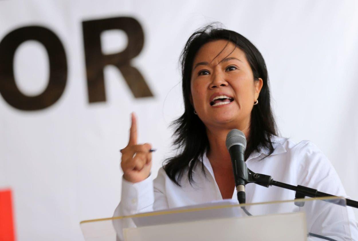 Keiko Fujimori pide auditar recuento de votos de las presidenciales de Perú