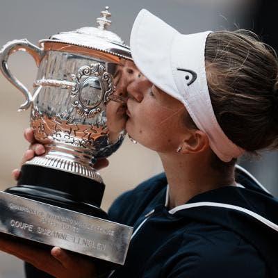 Krejcikova gana Roland Garros