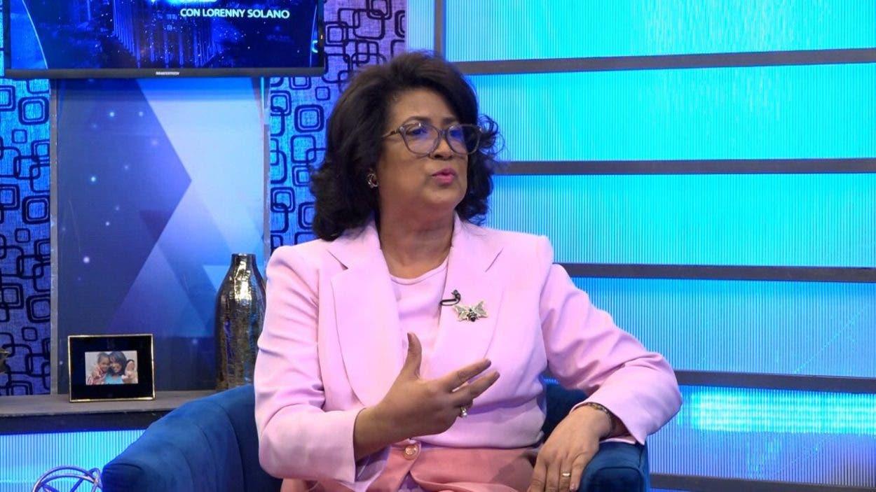 """Cristina Lizardo: """"El tiempo se encargará de demostrar si lo que se hace es para dañar la imagen del PLD"""""""