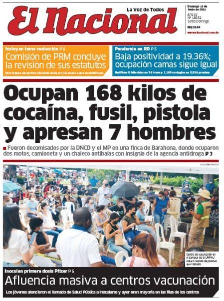 Edición impresa 13-06-2021