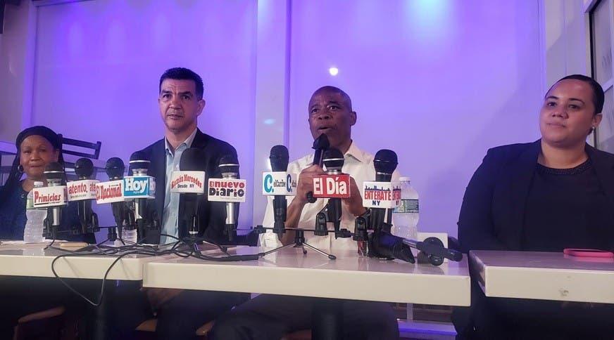 Mayoría dominicanos NYC tienen a Eric Adams como favorito para alcaldía; dice con su voto ganará