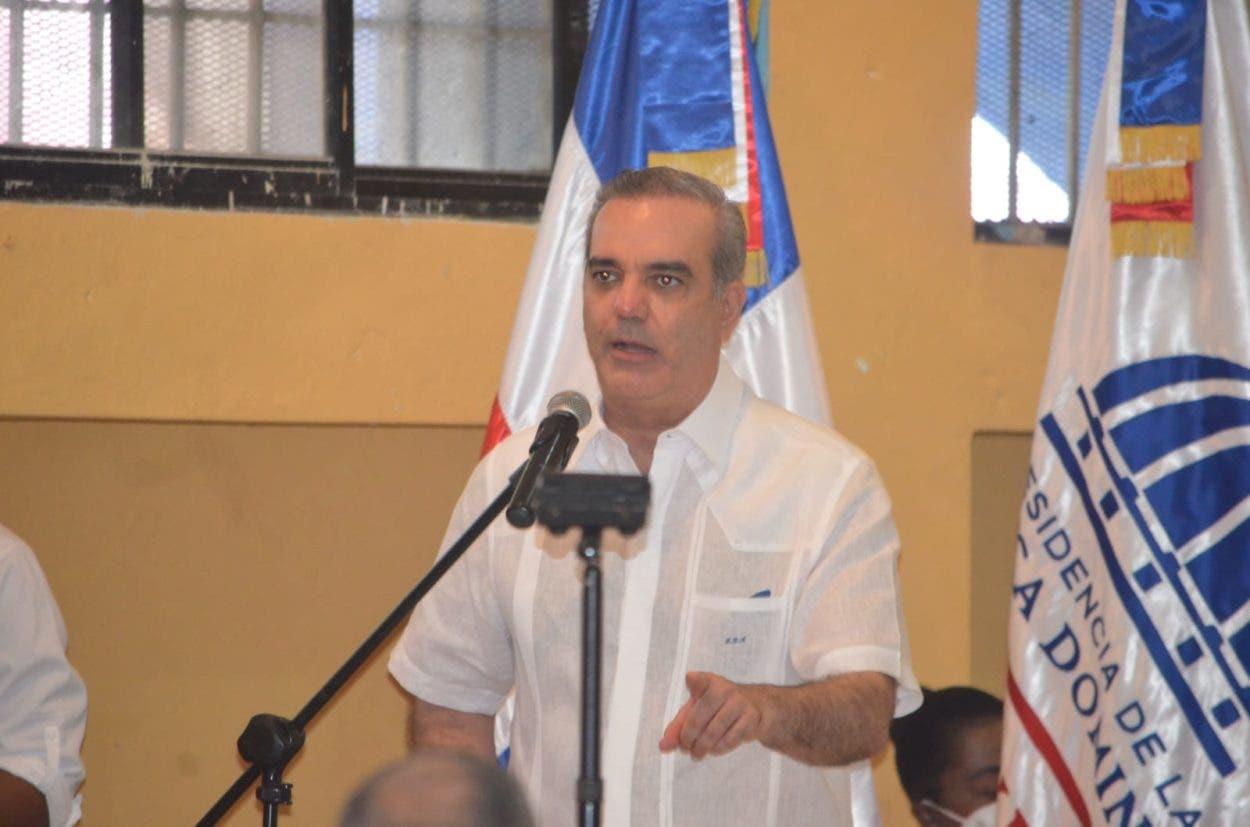 Abinader dice plan seguridad será aplicado en todos los sectores del país