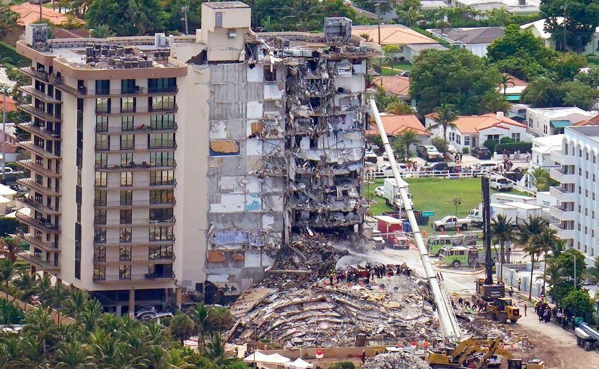 La esperanza de hallar personas con vida flaquea 6 días después del derrumbe