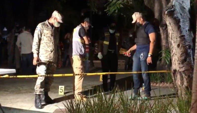 Matan a tiros oficial del Dicrim trató de evitar un atraco en Santiago
