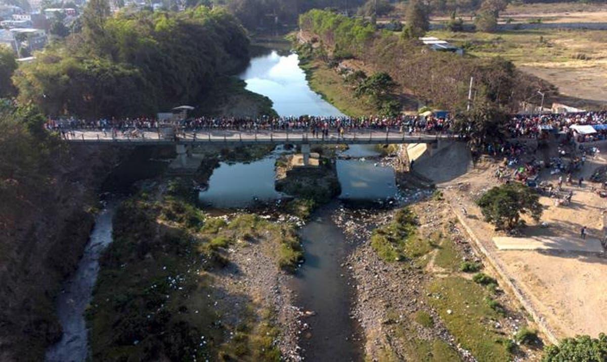 Conflictivo desvío del río Masacre