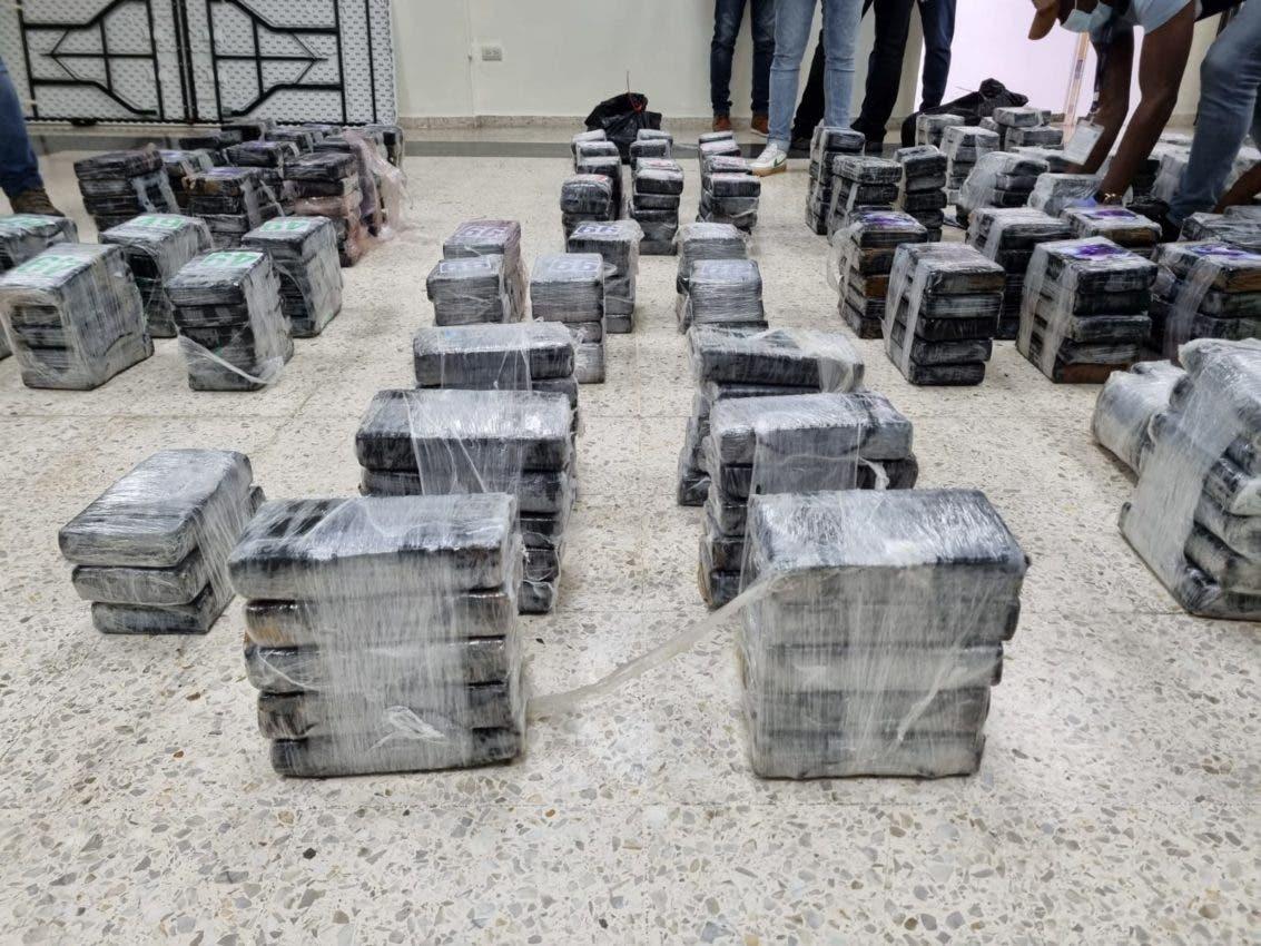 Santo Domingo y Barahona son las provincias con mayor tráfico de drogas última semana