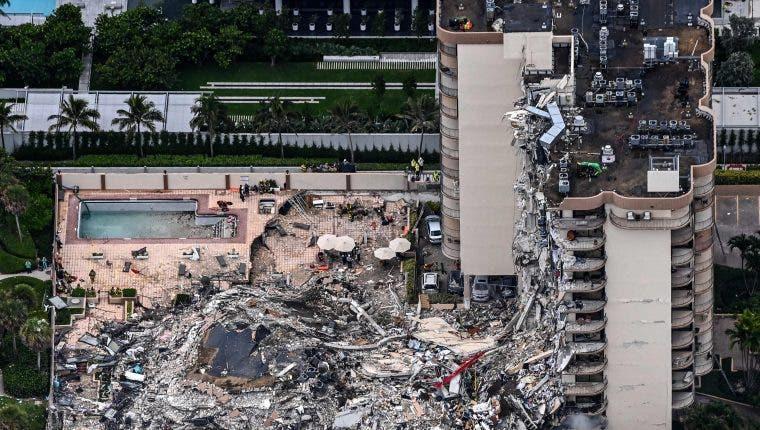 Sube a nueve el número de fallecidos en derrumbe de edificio en Miami