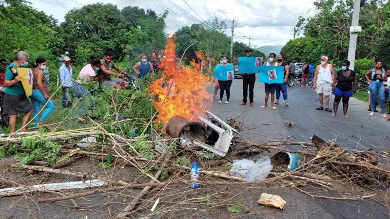 Protestan en Dajabón en reclamo se aclare caso desaparición de niña