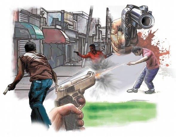 Tiroteo en punto de drogas deja dos heridos en Moca