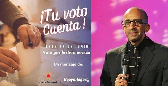 Inician campaña de motivación entre hispanos NYC acudan a votar primarias próximo día 22