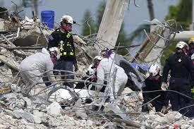 Tormenta Elsa amenaza rescate en edificio derruido en Florida