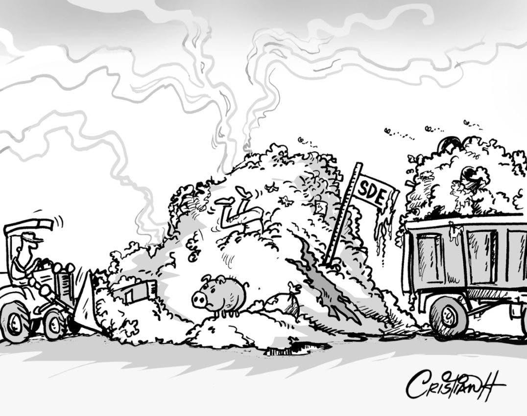Derroche de basura