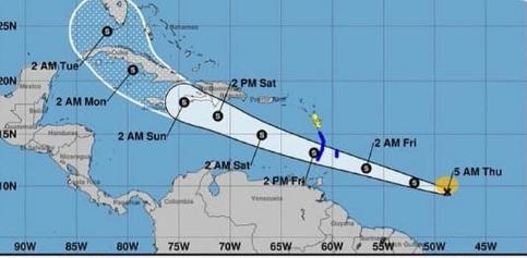 Se forma la tormenta Elsa en el Atlántico