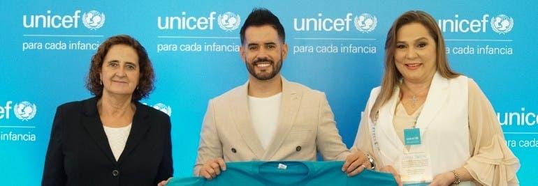 Manny Cruz es nuevo embajador de Unicef RD