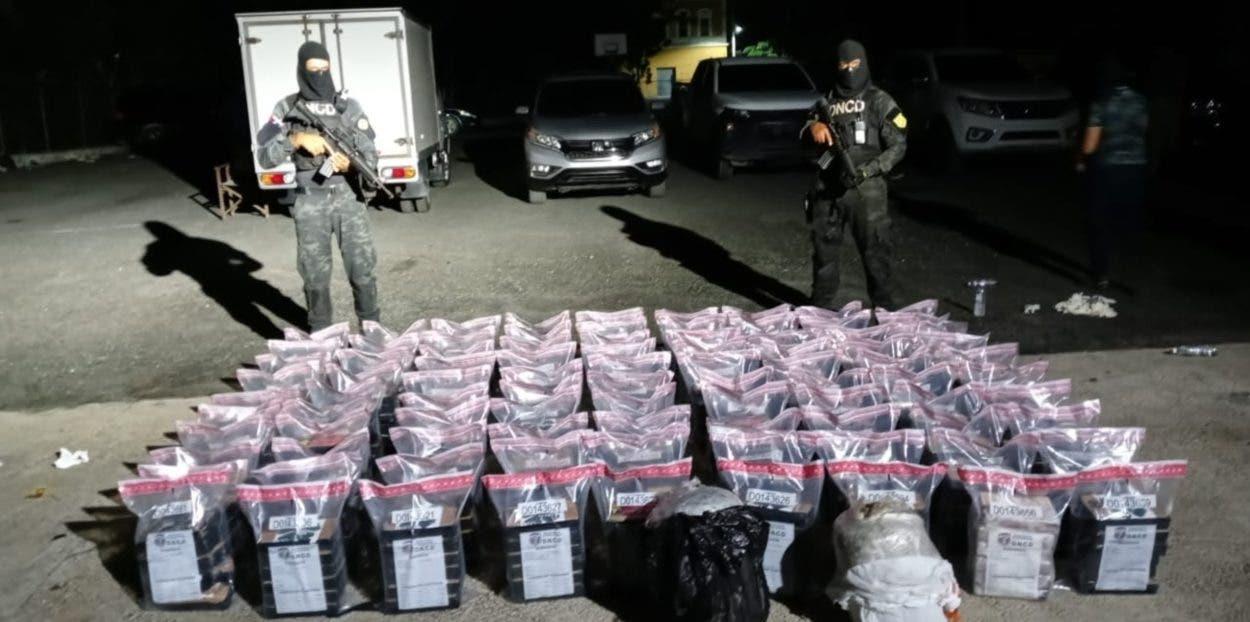 Ocupan 540 kilos de cocaína
