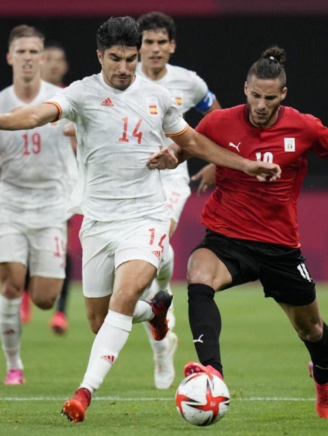 España y Egipto igualan; México golea a Francia