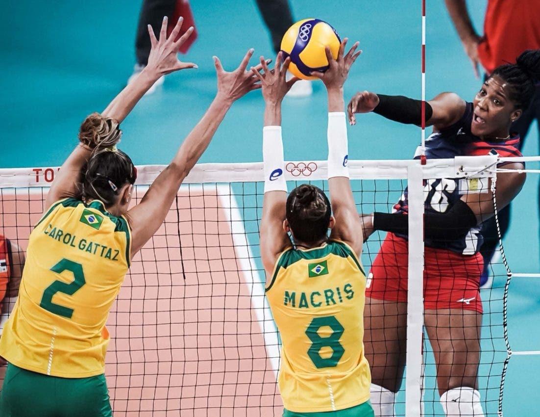 Brasil vence 3-2 a Reinas del Caribe