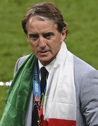 Roberto Mancini, en el Olimpo
