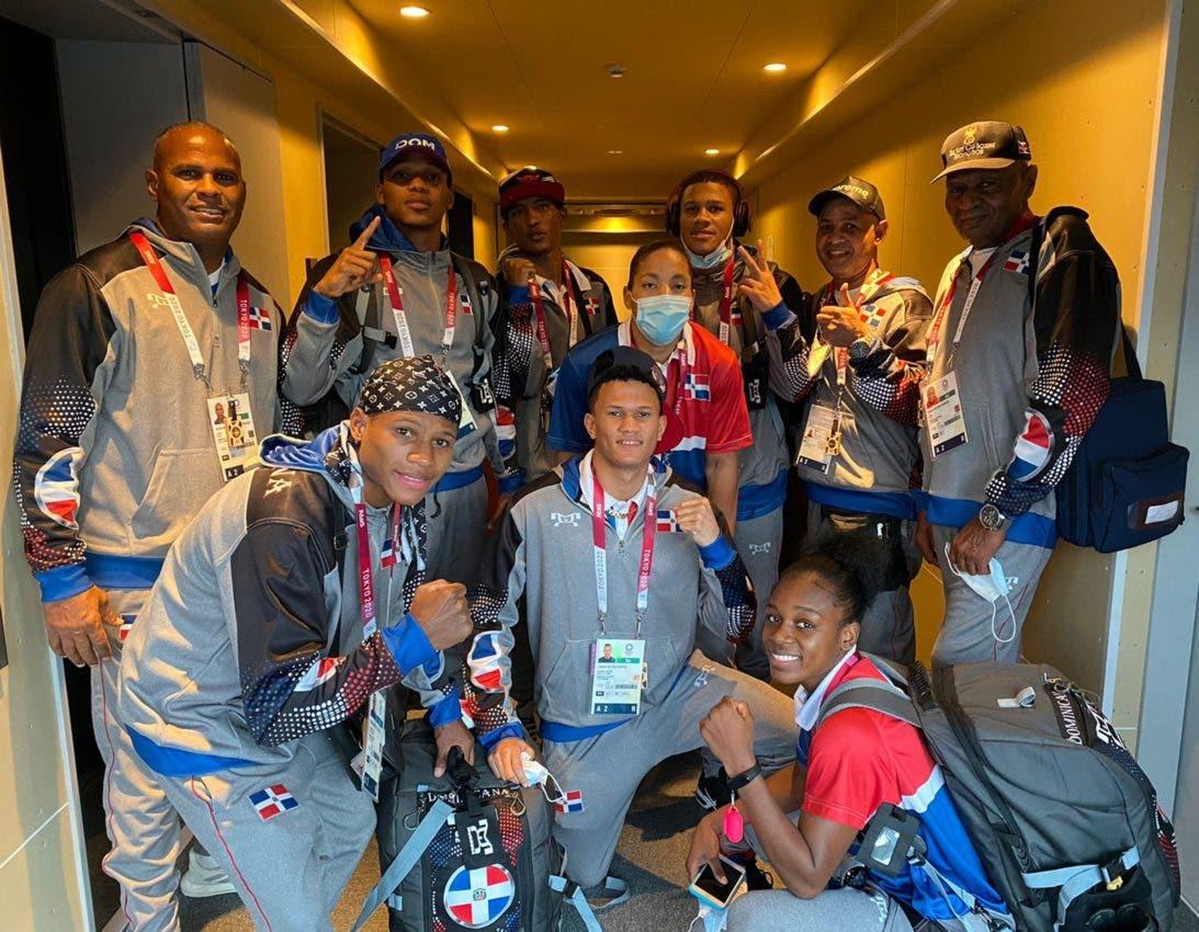Boxeadoras: Dominicanas reciben elogios en Tokio