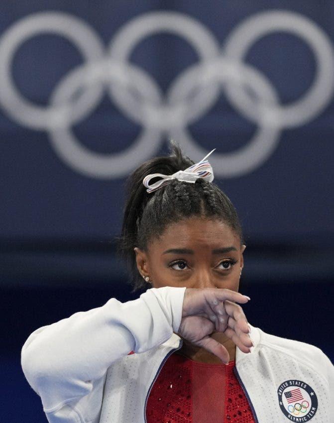 Simone Biles se despide Juegos Olímpicos de Tokio