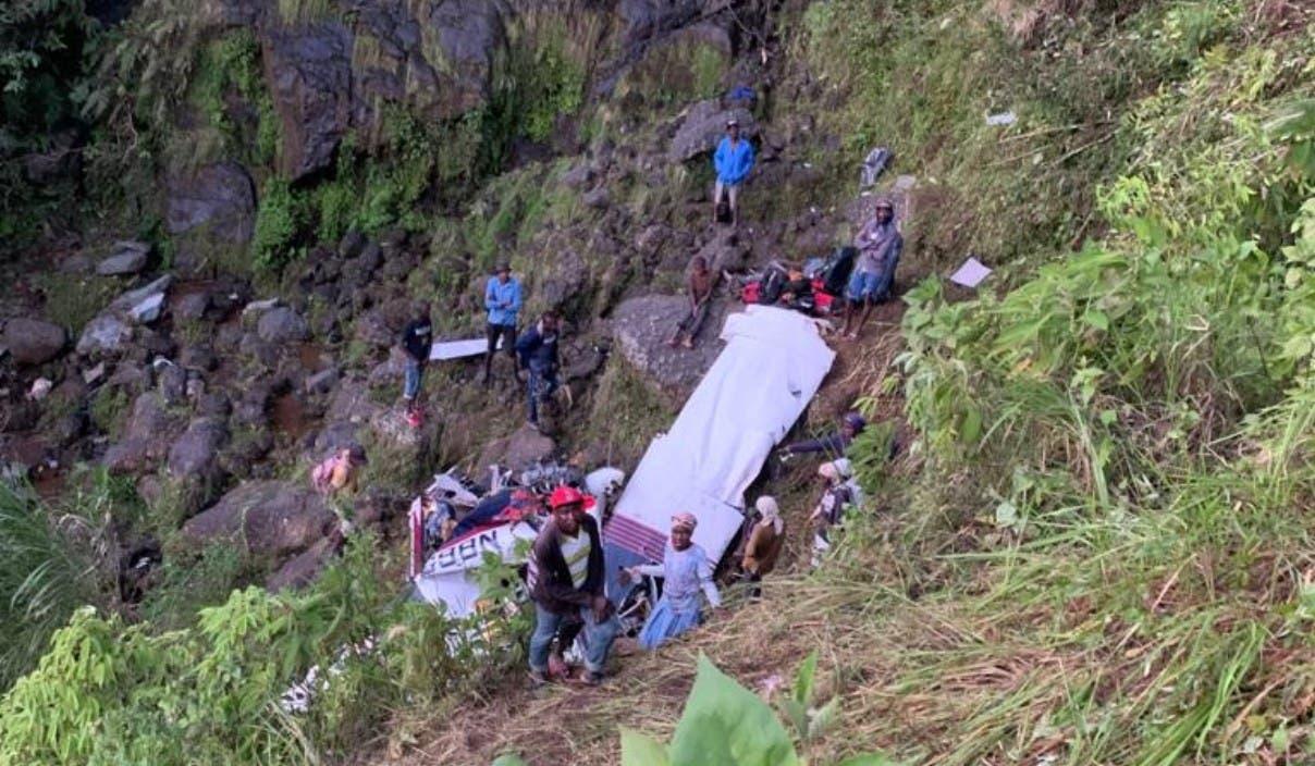 Mueren 2 pilotos RD accidente Haití