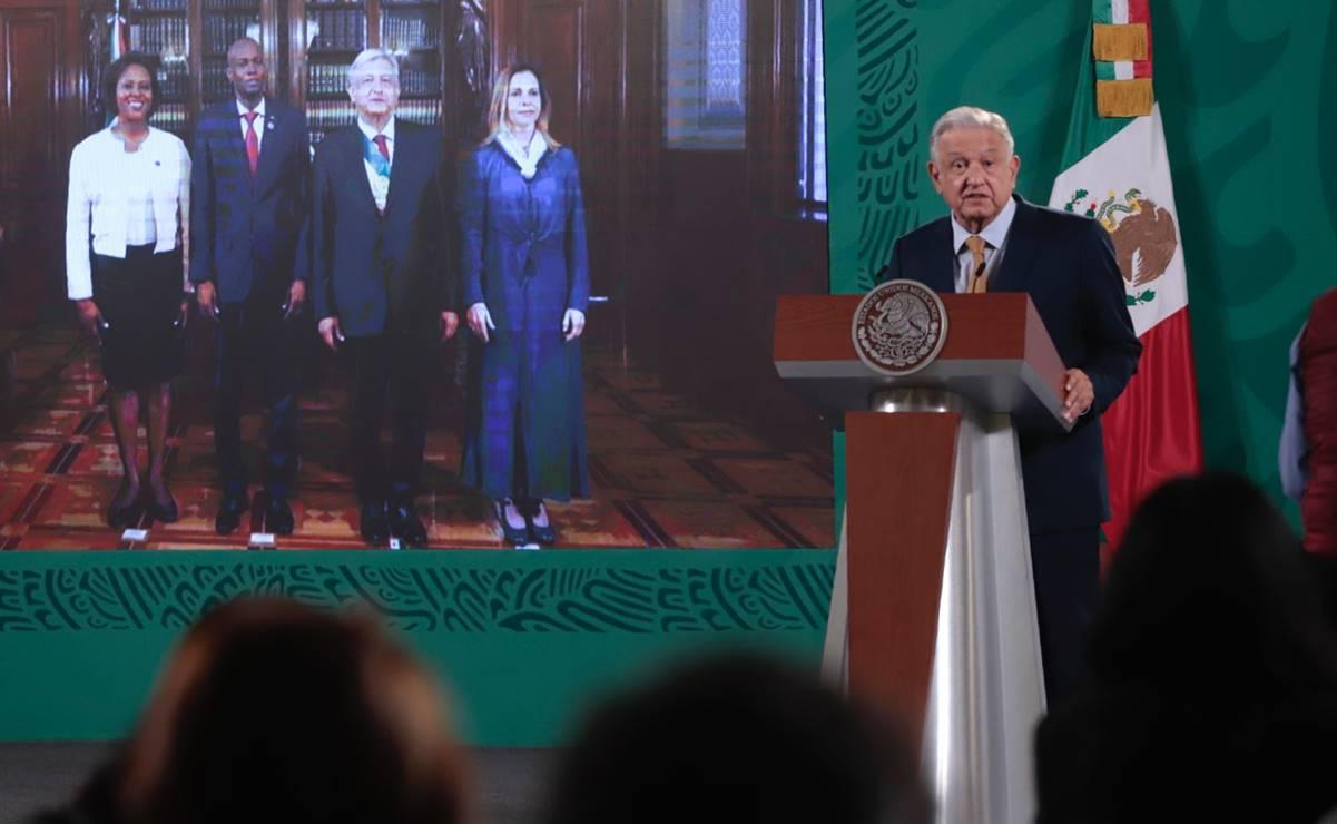 """López Obrador envía un """"abrazo"""" a Haití por """"lamentable"""" asesinato de Moise"""