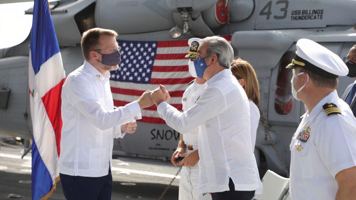 Abinader destaca buenas relaciones entre RD y EEUU