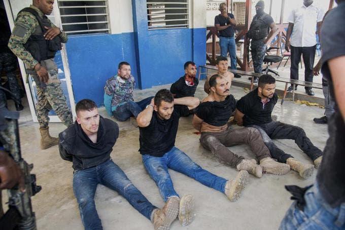 Exmilitares presos en Haití revelan nuevos datos