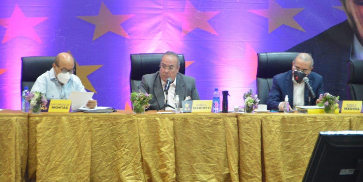 Comité Político PLD analizará reorganización
