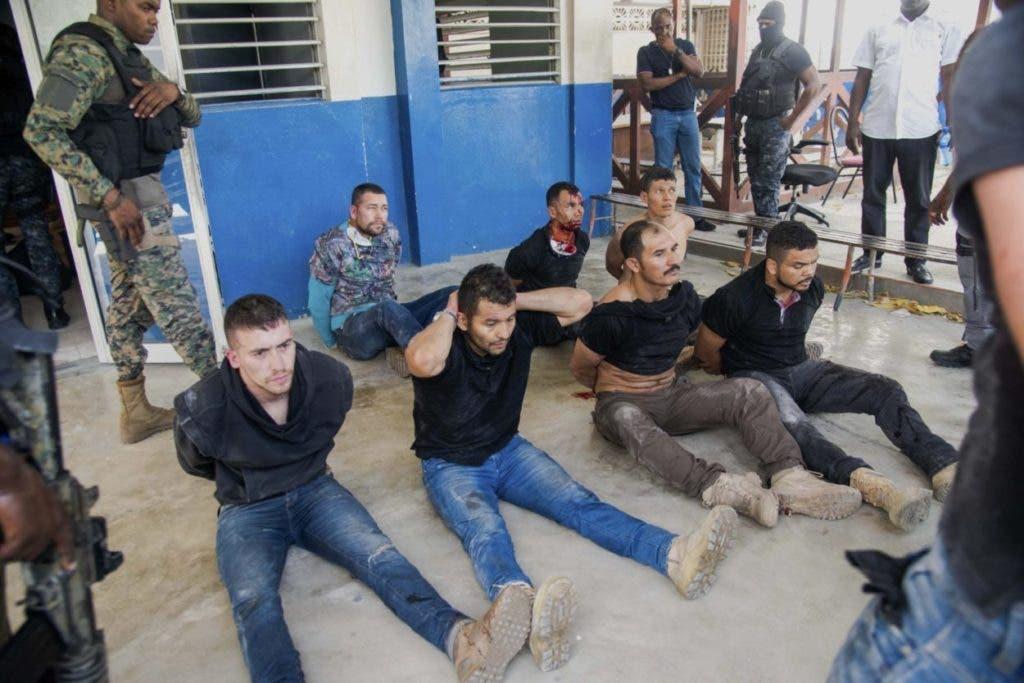 Pate de los colombianos detenidos en Haití y que el presidente Duque dice habrían participado en el magnicidio