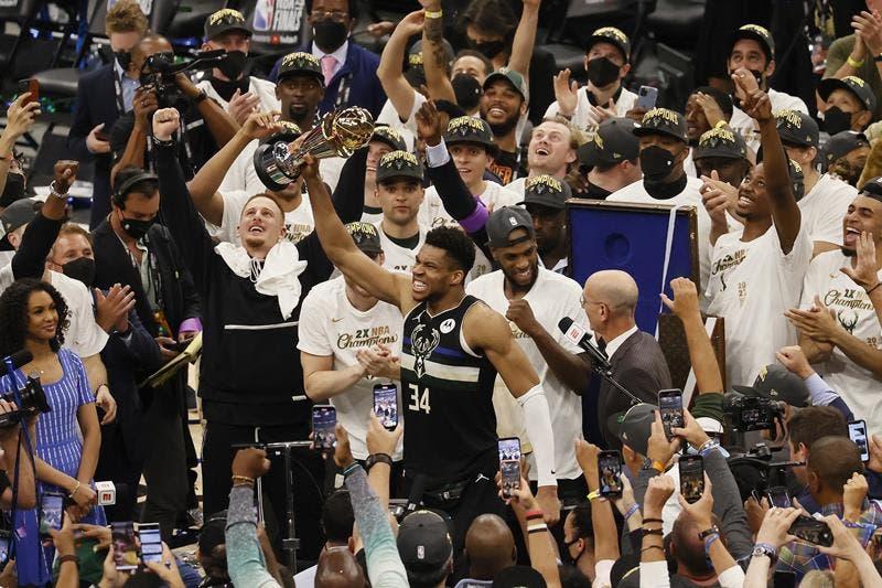 Los Bucks se proclaman campeones de la NBA