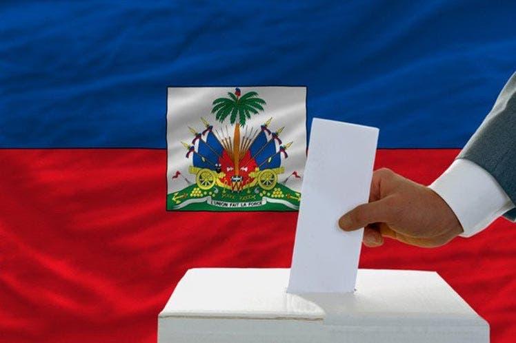 EEUU pide a líderes elecciones en Haití